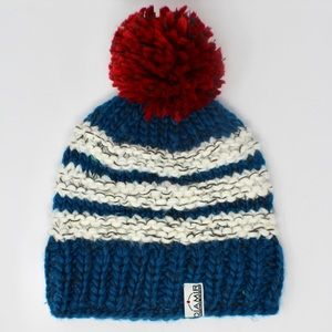 Rare DIAMIR FRITSCHI Swiss Pom Winter Hat